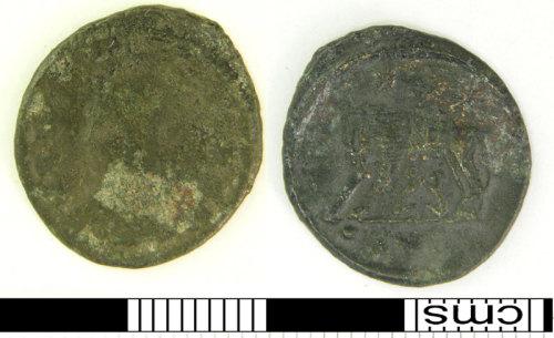 LVPL-6CC5E2: Roman coin
