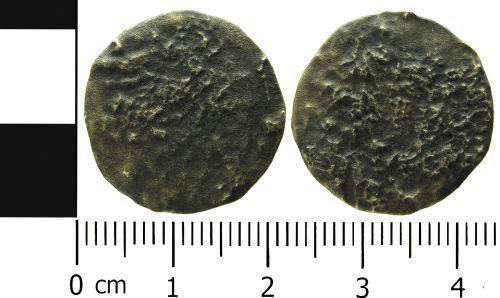 LVPL-FD9553: Worn coin