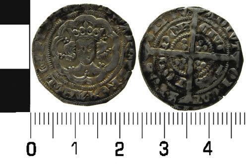 LVPL-7D6116: Edward III halfgroat