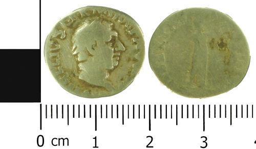 LVPL-0725B8: Roman denarius of Vitellius