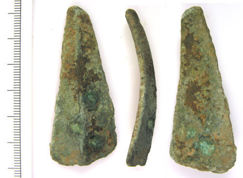 LVPL-0FD261: Copper alloy object of unknown date and function.