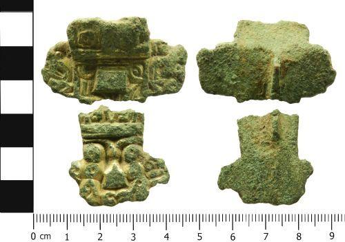 LVPL-0FFDB6: Early Medieval brooch