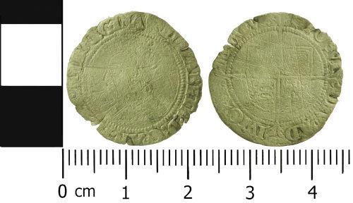 LVPL-1B8363: Post-Medieval groat of Elizabeth I