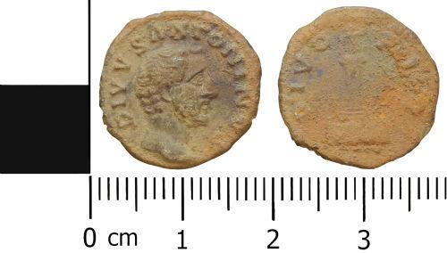 LVPL-1C1217: Roman nummus of Divo Antoninus Pius