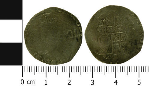 LVPL-25FA95: Post-Medieval shilling of Charles I