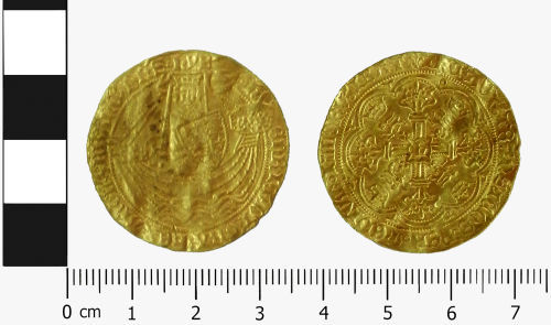 LVPL-2789E2: Medieval Gold noble of Henry VI