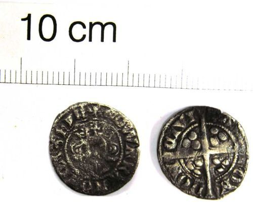 LVPL-2CCDE3: Medieval silver penny of Edward I, (1272-1307).