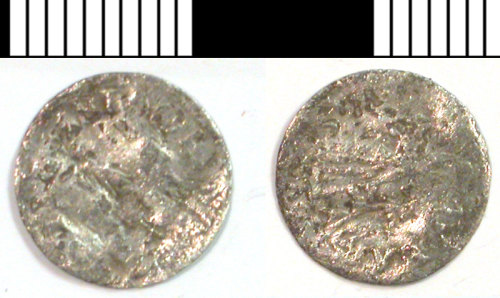 LVPL-315562: Silver coin of unknown date and ruler.