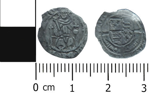 LVPL-3FF4E5: Medieval penny of Henry VII