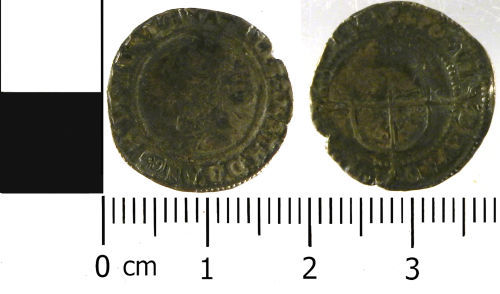 LVPL-4372E5: Threepence of Elizabeth I