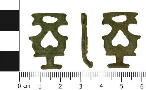 LVPL-43B253: Medieval dress hook