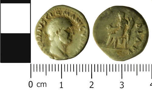 LVPL-7494B0: Roman denarus of Vitillius