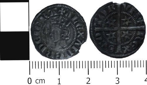 LVPL-8C4377: Medieval Scottish penny of Alexander III