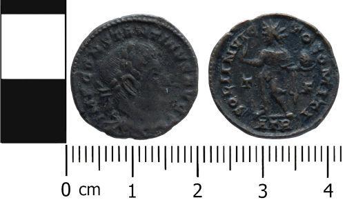 LVPL-A7ABE5: Roman nummus of Constantine I