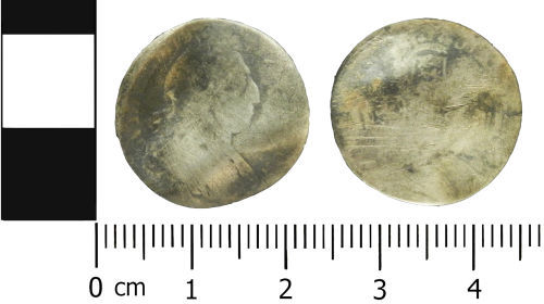 LVPL-AC2006: Post-Medieval sixpence of William III