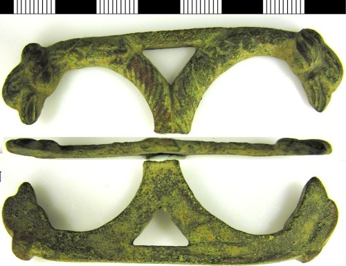 LVPL-AE83A3: A cast copper alloy object possibly Roman to Post-Medieval date.