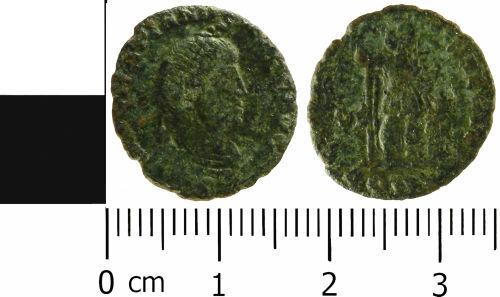 LVPL-B845D4: Roman nummus