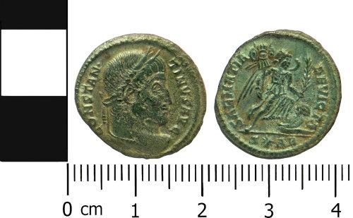 LVPL-CCFA83: Roman nummus of Constantine I