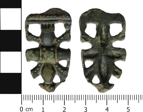 LVPL-D1295B: Early Medieval strap end