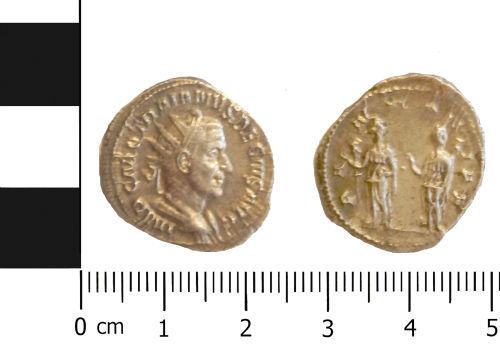 LVPL-D29CE6: Silver radiate of Trajan