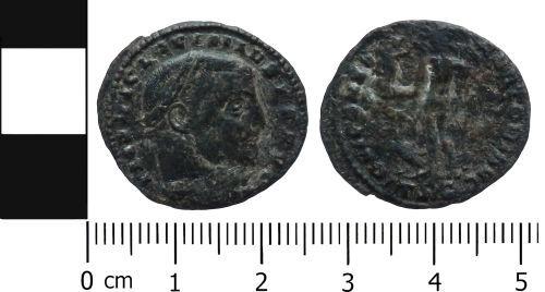 LVPL-E44EC9: Roman nummus of Licinius I