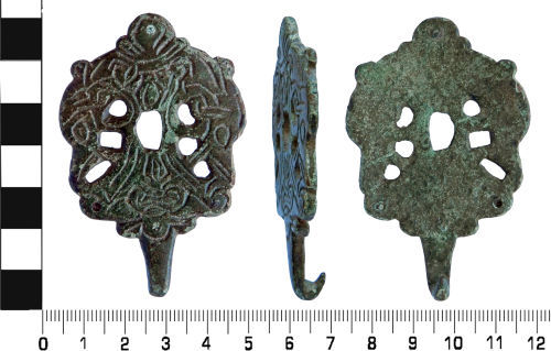 LVPL-F49737: Early Medieval dress hook