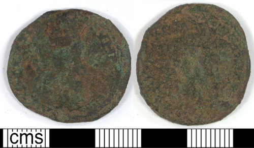 LVPL-FD9F11: Large bronze coin of unknown date.
