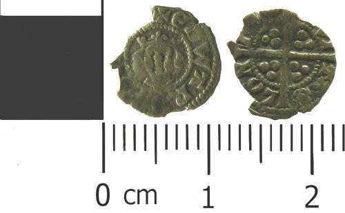 LVPL-FE15F3: Medieval farthing of Edward II.