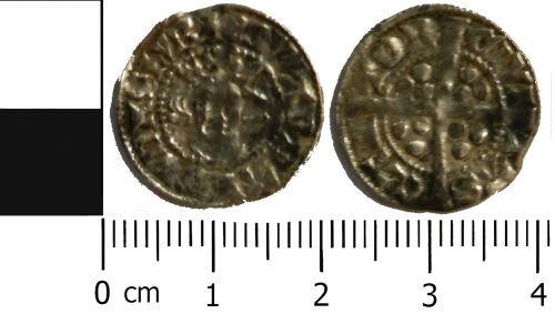 LVPL-FFDD72: Medieval penny of Edward I