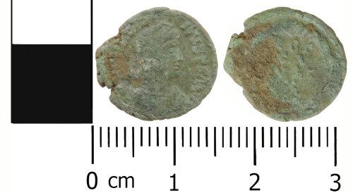 LVPL-0670D1: Roman nummus of Gratian