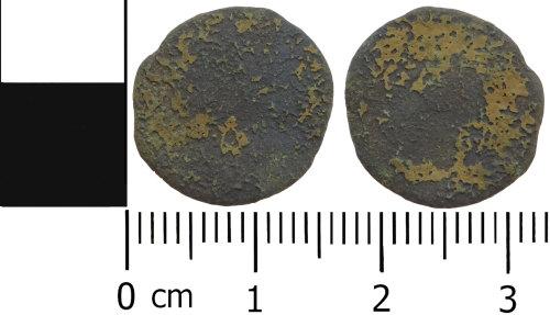 LVPL-08A3A7: Roman radiate or nummus