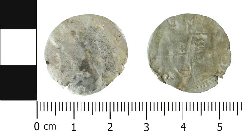 LVPL-0B13D9: Post-medieval groat of Mary