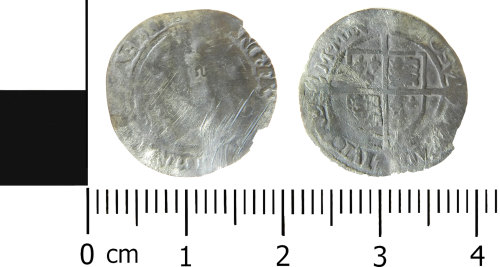 LVPL-1AFF86: Post Medieval coin