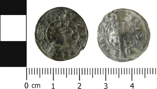 LVPL-202C62: Medieval penny of Brabant