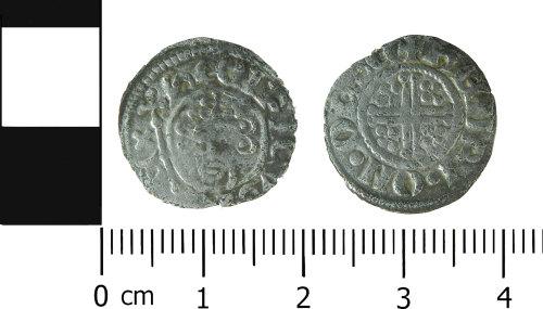 LVPL-2AF468: Medieval penny of John