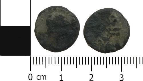 LVPL-2C58B9: Roman nummus