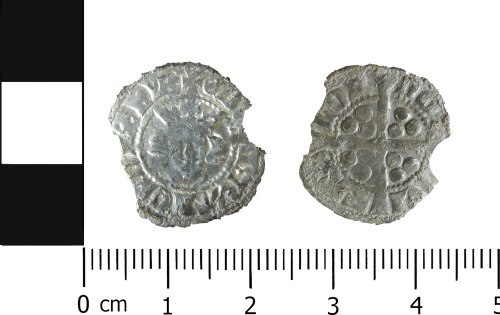 LVPL-3AA285: Medieval penny of Edward I