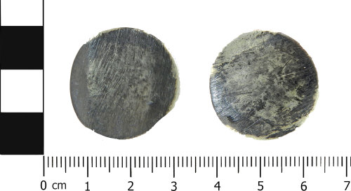 LVPL-3E68B7: Post-medieval sixpence of William III