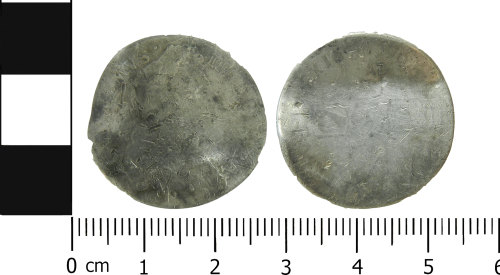 LVPL-3E8DCC: Post-medieval sixpence of William III