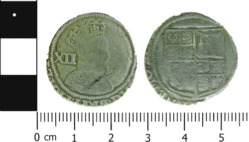 LVPL-426784: Post-medieval shilling of James I