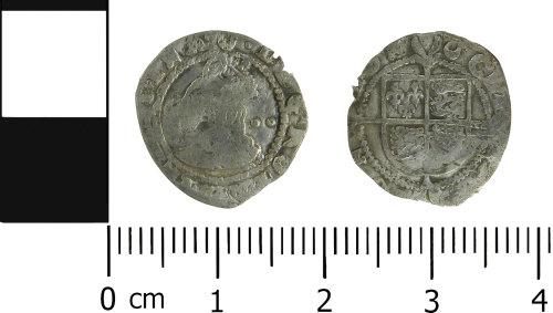 LVPL-4564FA: Post-medeival half groat of Elizabeth I