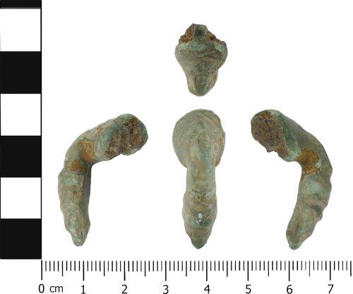 LVPL-46BC3F: Roman trumpet brooch