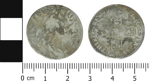 LVPL-473E27: Post-Medieval shilling of William III