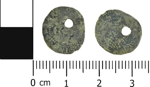 LVPL-475746: Medieval Scottish coin