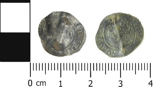 LVPL-4C75F7: Post-medieval halfgroat of Charles I