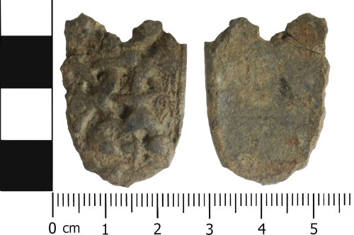 LVPL-4DFD3E: Early Medieval strap end