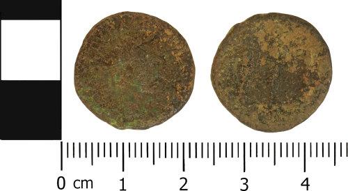 LVPL-68E924: Roman nummus of the House of Constantine