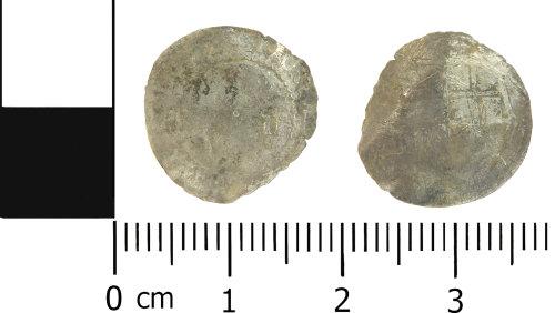 LVPL-6B669B: Post-medieval halfgroat of Charles I