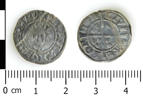 LVPL-79B8DE: Medieval penny