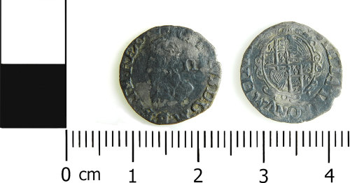 LVPL-7A51AC: Post medieval coin of Charles I
